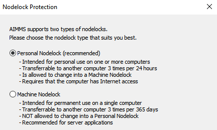 NodelockProtection